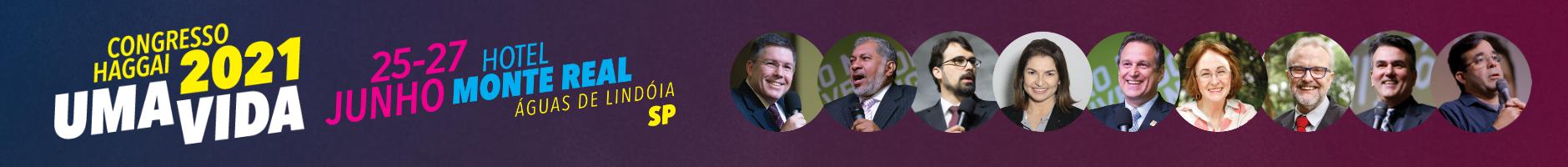 Congresso Haggai 2021 em Águas de Lindóia, SP