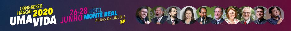 Congresso Haggai 2020 em Águas de Lindóia, SP