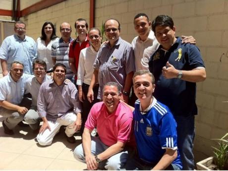Rio de Janeiro: grupo formado pela banca examinadora e candidatos