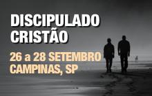 Curso de Discipulado Cristão em Campinas, SP - 26 a 28 Set 2017