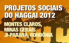 Projetos Sociais do Haggai 2012