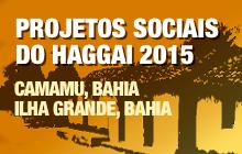 Projetos Sociais do Haggai 2015