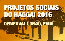 Projetos Sociais do Haggai 2016