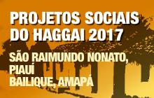 Projetos Sociais do Haggai 2017